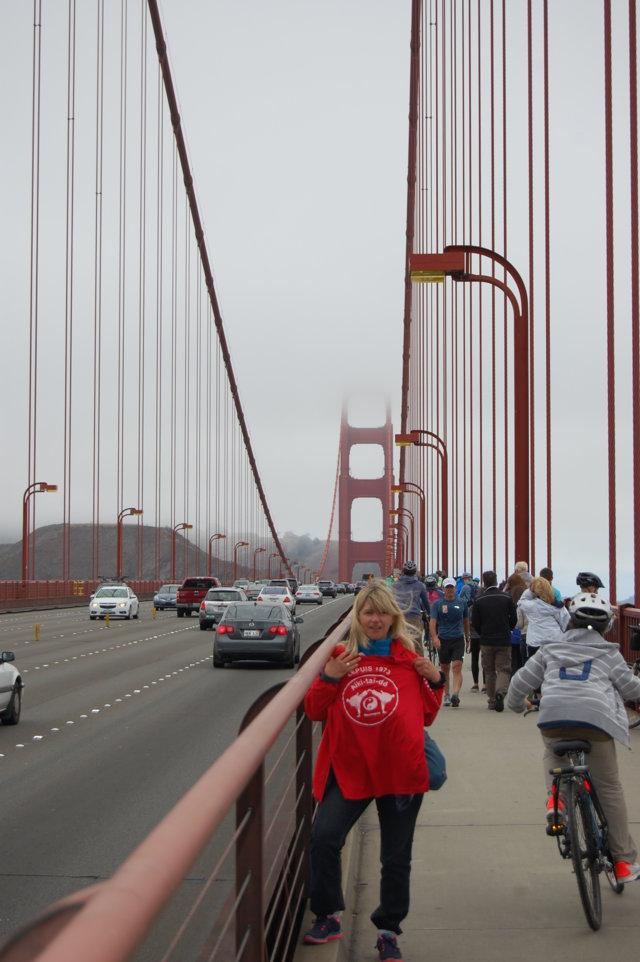2013 Florence et Gilles en Amérique (Pont de San Francisco)