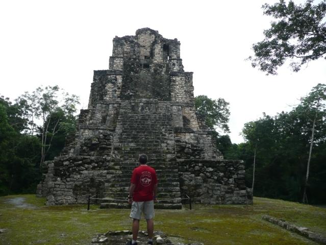 2013 Eric au Mexique (Muyil, site archéologique Maya)